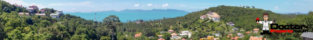 Sea View Land – Mae Nam, Koh Samui – For Sale