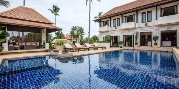 4 Bedroom Pool Villa - Bang Rak - Koh Samui - for sale