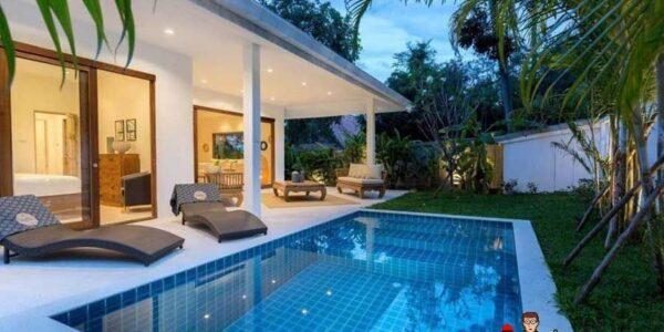 3 Bed Modern Pool Villa - Bophut - Koh Samui - for sale
