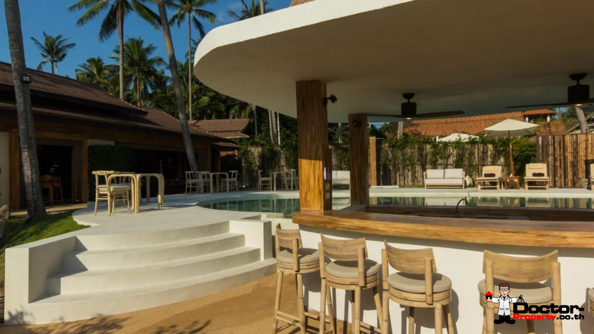 25 Room Beachfront Resort - Mae Nam - Koh Samui - for sale