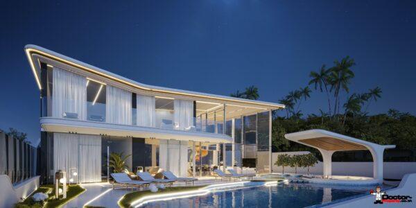 A Luxury 6 Bedroom Pool Villa With Seaview - Bang Por, Koh Samui - Fore Sale