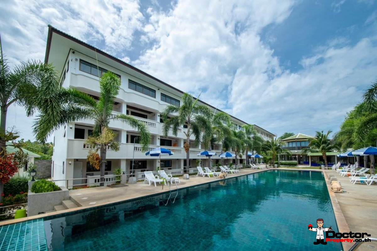 70 Room Beachfront Hotel - Choeng Mon - Koh Samui - for sale