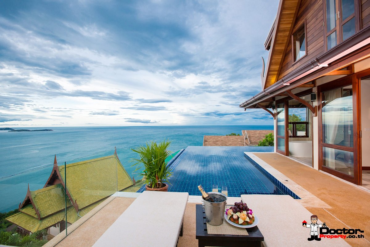 4 Bedroom Sea View Villa - Chaweng Noi - Koh Samui - for sale