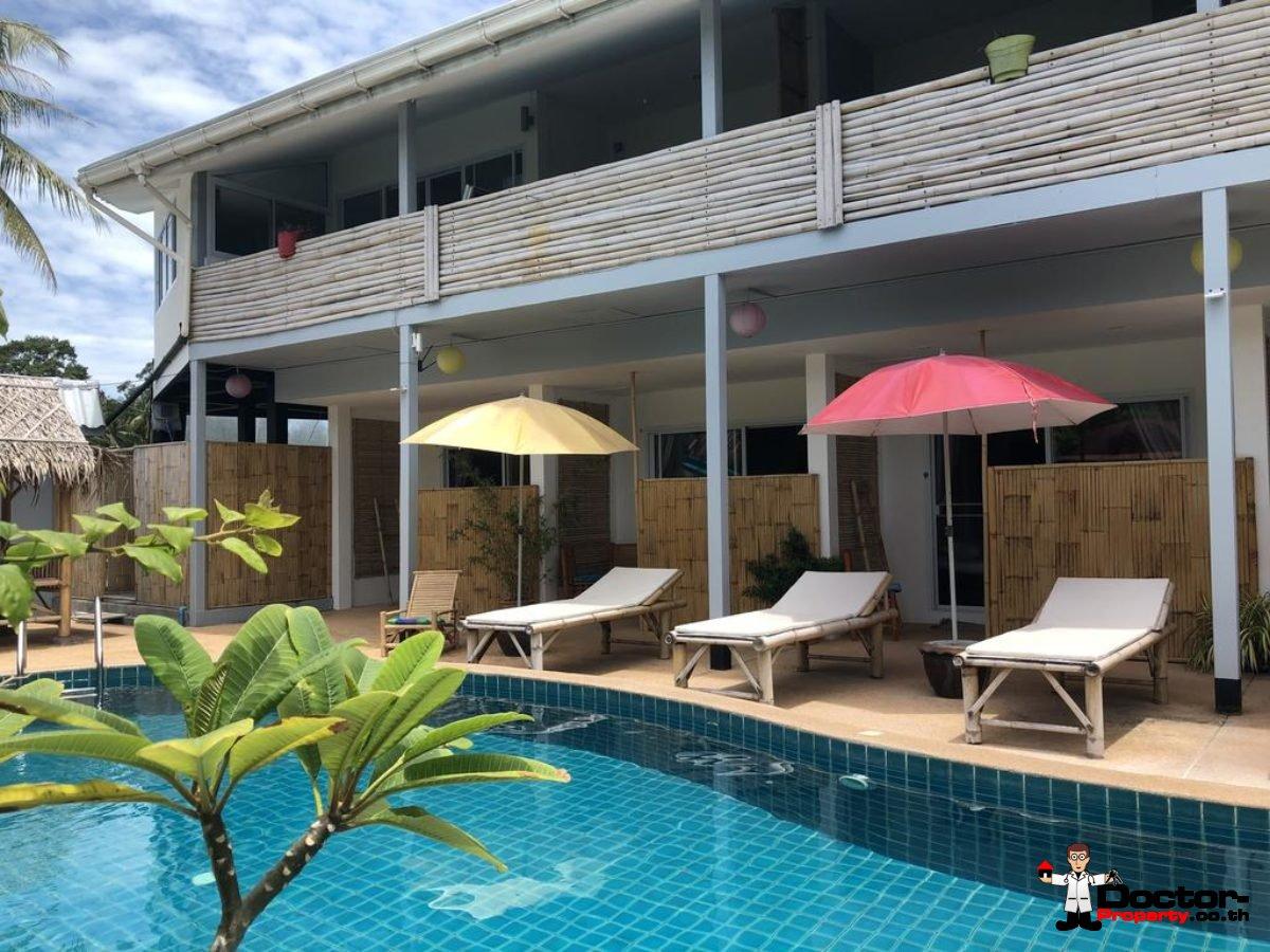 17 Rooms Boutique Hotel - Mae Nam - Koh Samui - for sale