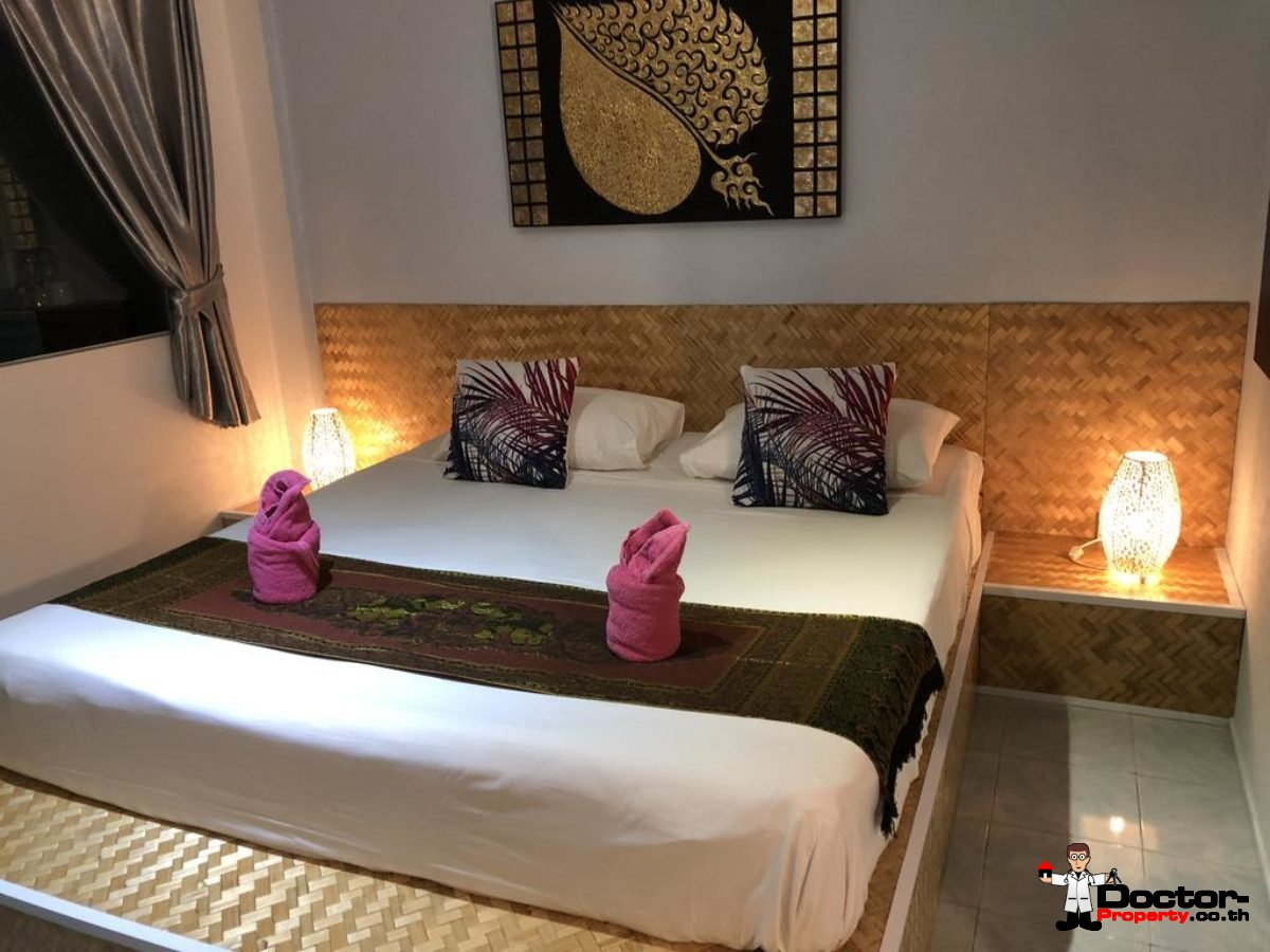 17 Rooms Boutique Hotel - Mae Nam - Koh Samui - for sale