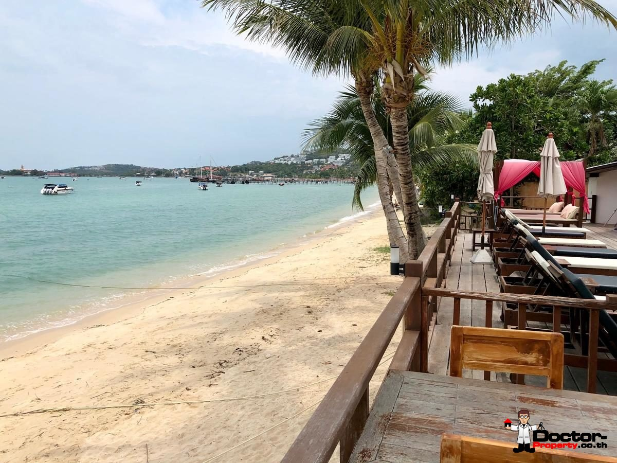 ฺBeachfront business in Bang Rak, Koh Samui - For Sale