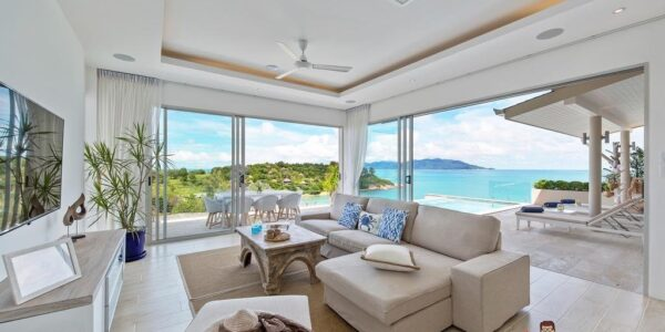 Fantastic 3 Bedroom Sea View Villa - Plai Laem - Koh Samui - for sale