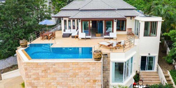4 Bedroom Sea View Villa - Lamai Beach - Koh Samui - for sale