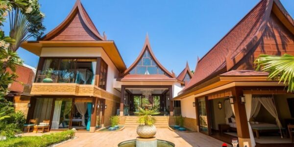 Stunning 5 Bedroom Beachfront Villa - Lipa Noi - Koh Samui - for sale