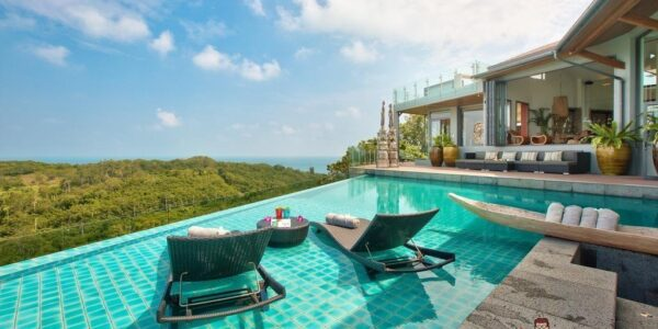 Luxury 8 Bedroom Sea View Villa - Choeng Mon - for sale