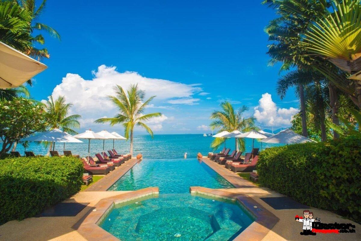 Beachfront Hotel in Bang Rak, Koh Samui - For Sale