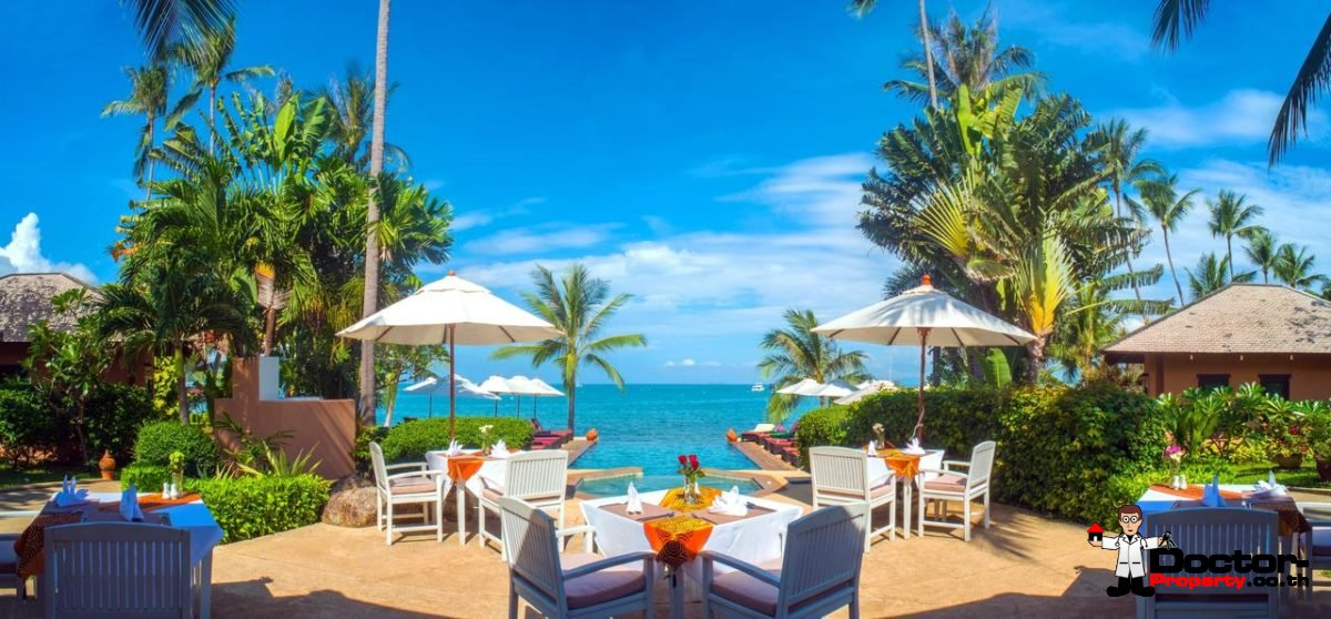 Beachfront Hotel in Bang Rak, Koh Samui - For Sale