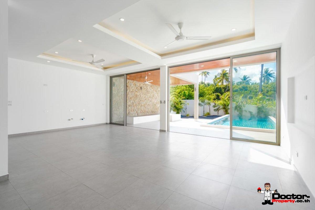 New 3 Bedroom Pool Villa - Bophut - Koh Samui - for sale