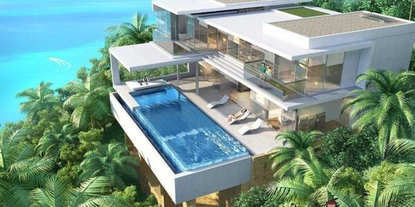 3.5 Bedroom Sea View Villa Type A - Chaweng Noi - Koh Samui