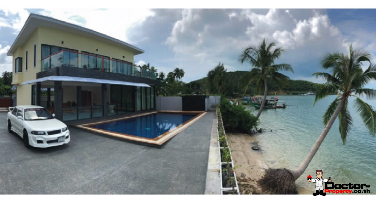 3 Bedroom Beachfront Villa - Lipa Noi - Koh Samui - for sale