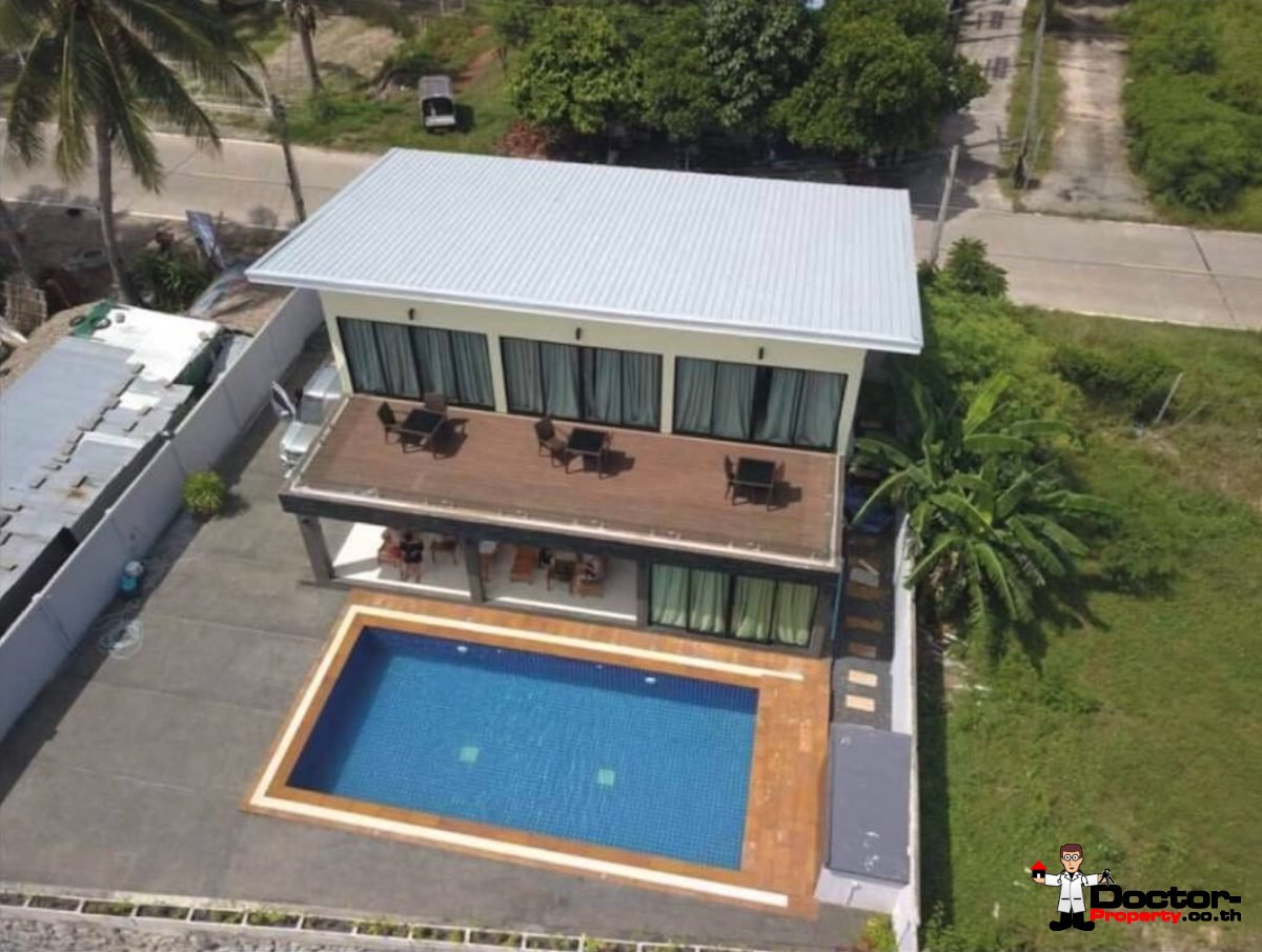 3 Bedroom Beachfront Villa - Lipa Noi - Koh Samui - for sale