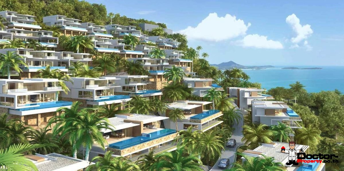 Masterplan Sea View Villa - Chaweng Noi - Koh Samui - for sale