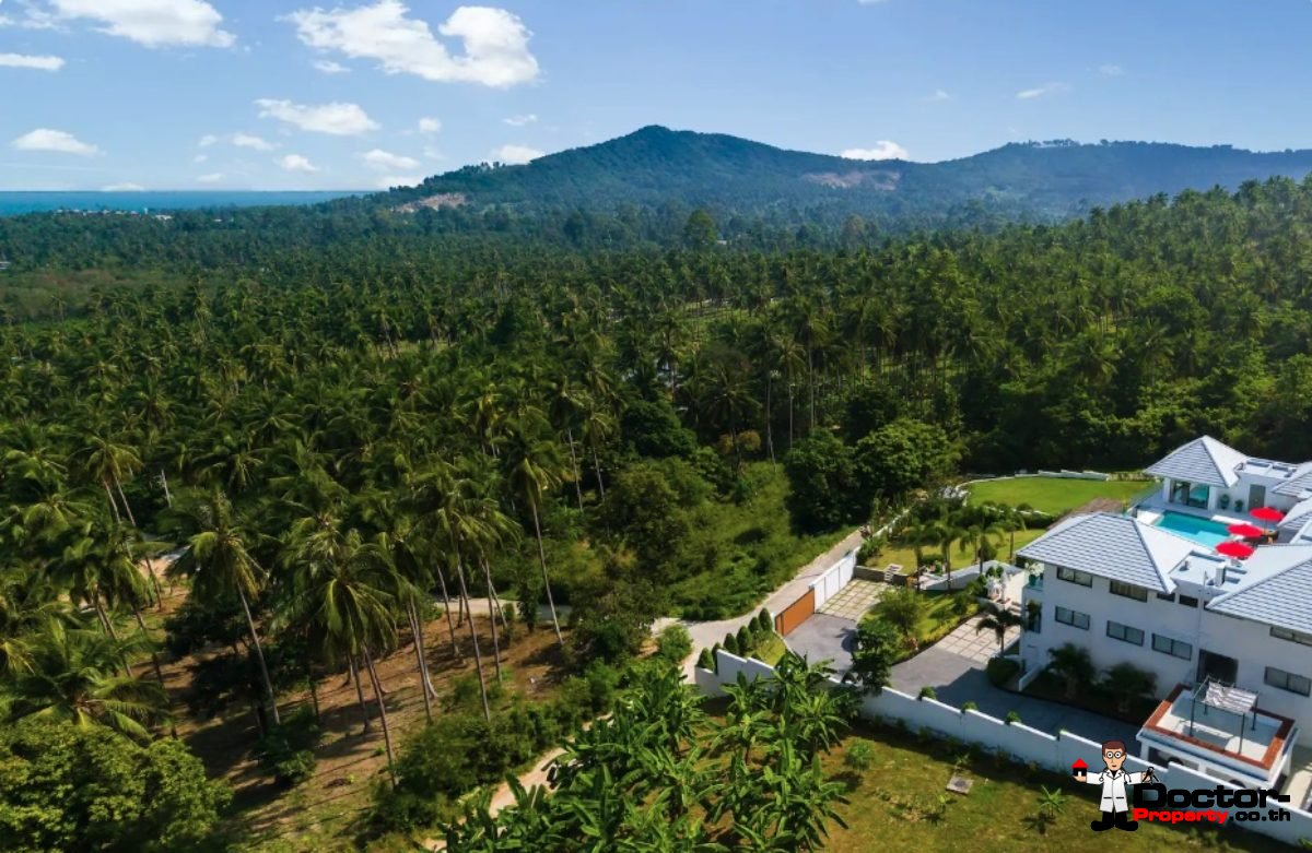 4 Bedroom Sea View Villa - Bophut - Koh Samui - for sale