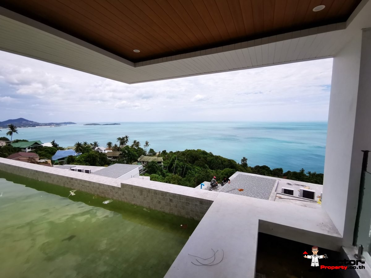 Sea View Villa - Chaweng Noi - Koh Samui - for sale