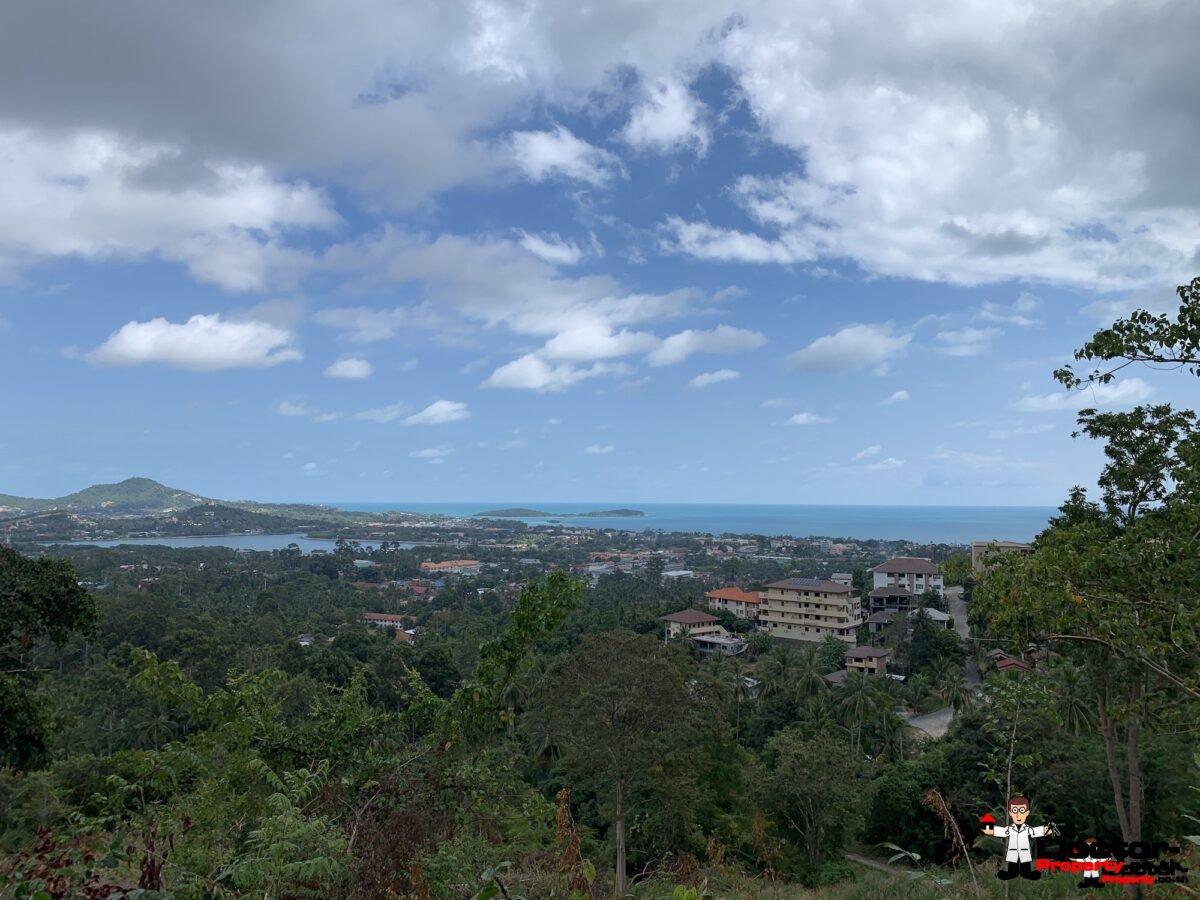 10 Rai of Sea View Land on Chaweng Hill, Koh Samui - For Sale
