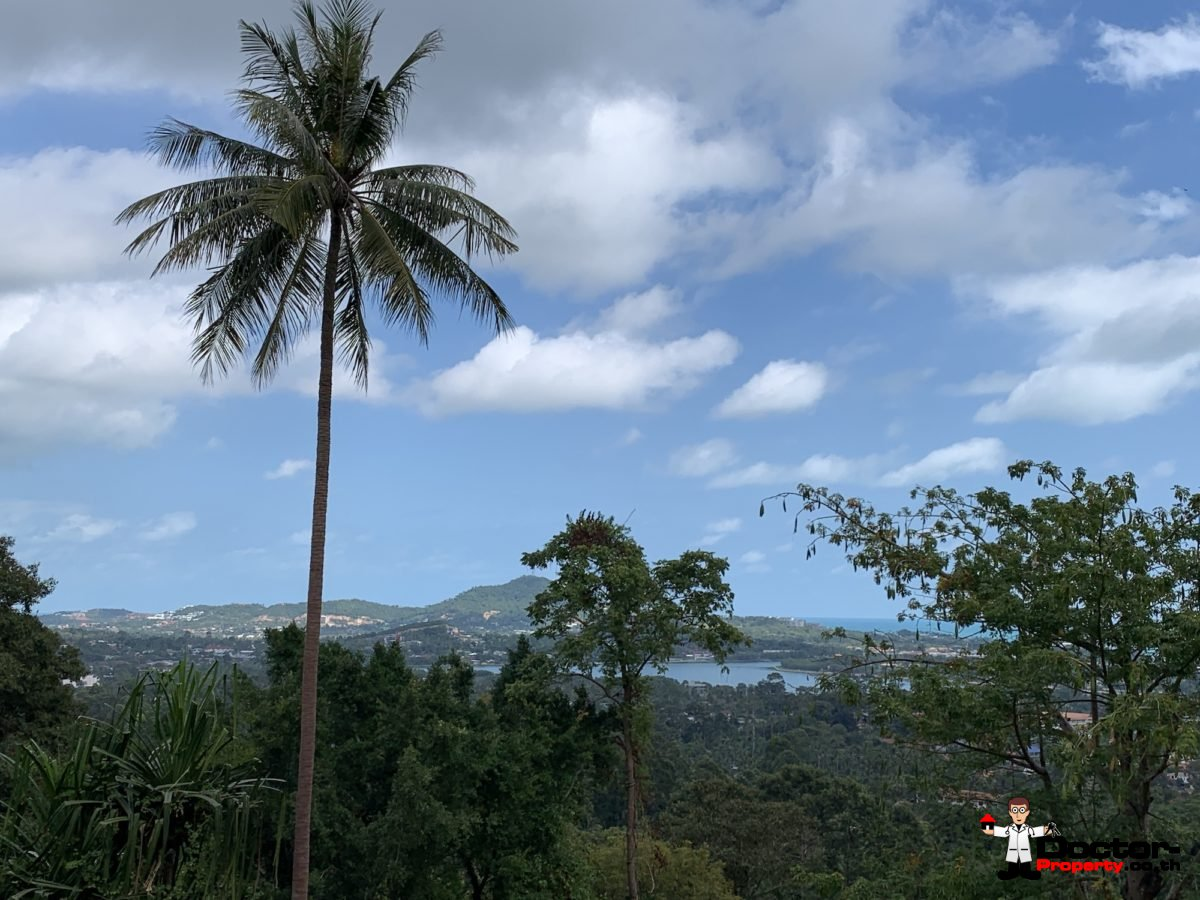 10 Rai of Sea View Land on Chaweng Hill, Koh Samui - For Sale
