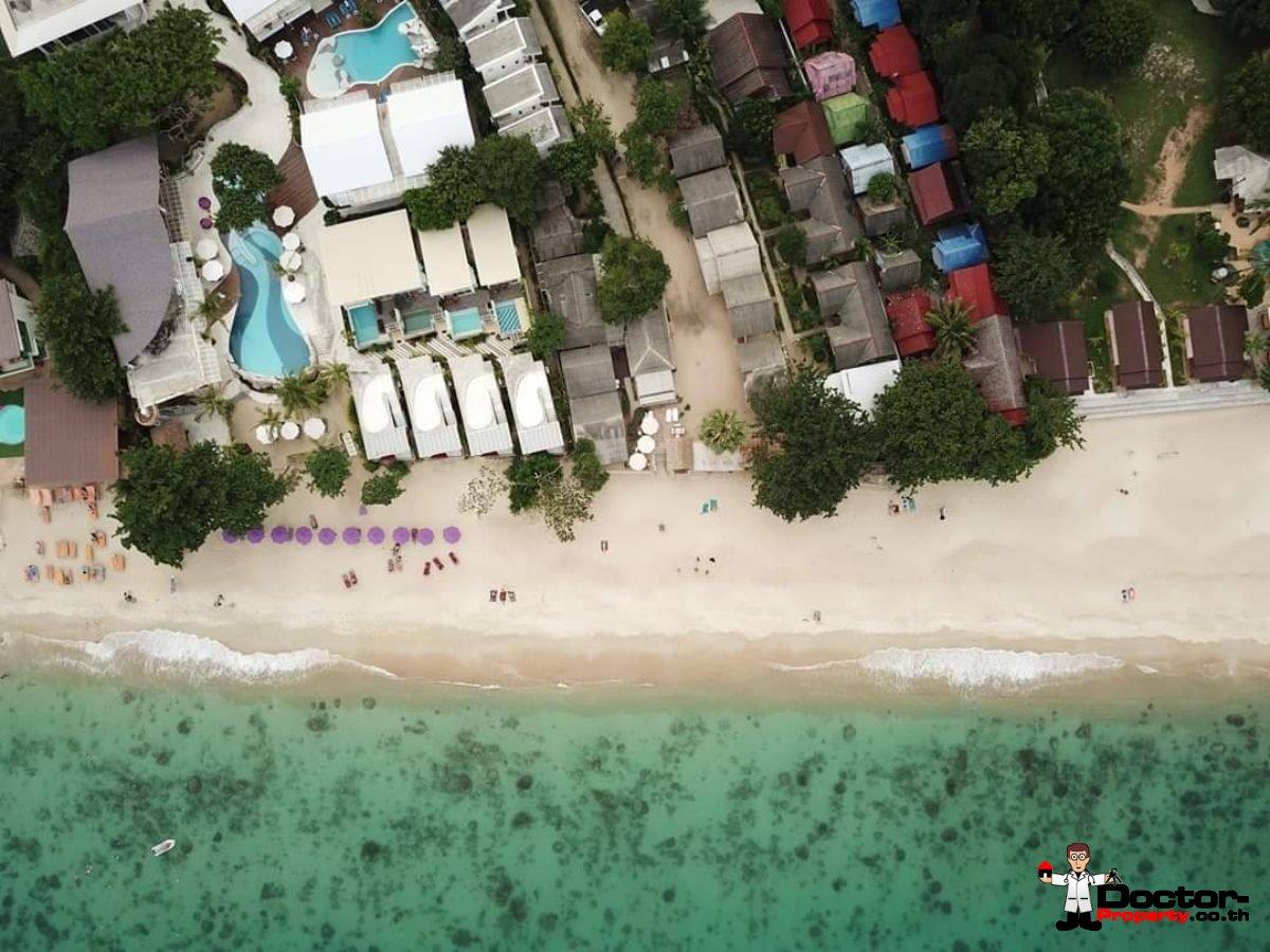 Beachfront Land with 20 Bungalows on Lamai Beach, Koh Samui - For Salev