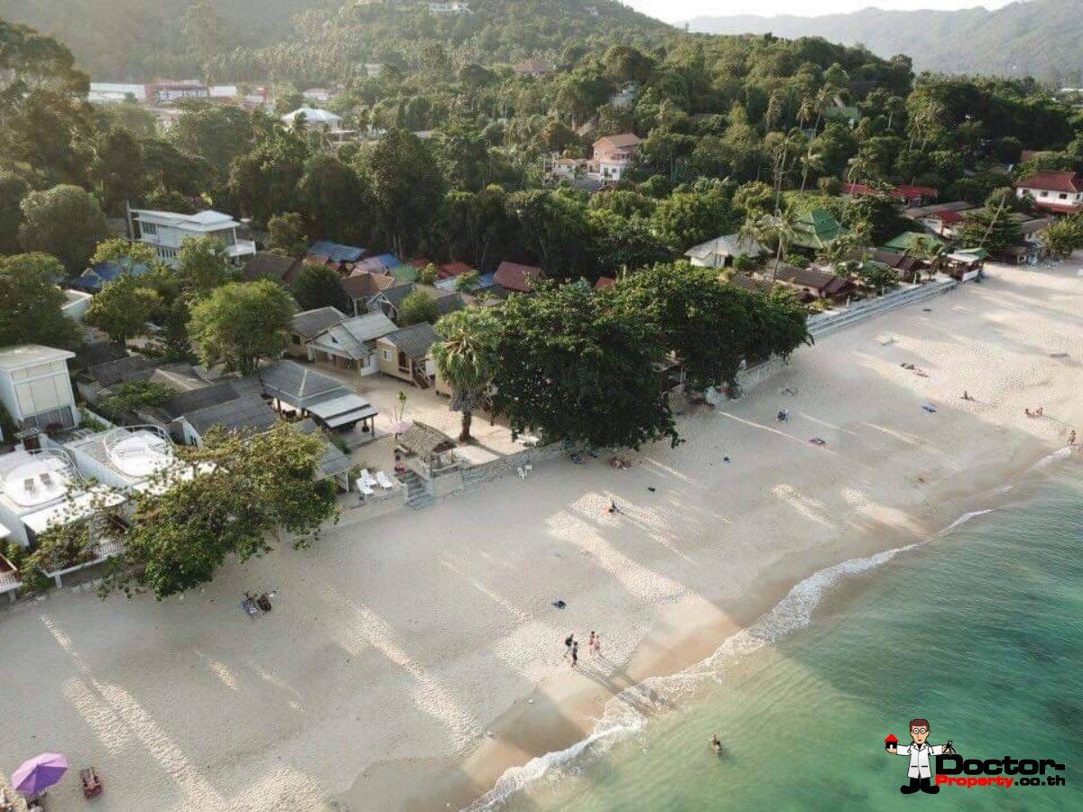 Beachfront Land with 20 Bungalows on Lamai Beach, Koh Samui - For Sale