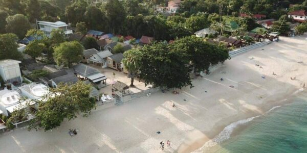 Beachfront Land with 20 Bungalows on Lamai Beach, Koh Samui - For Sale