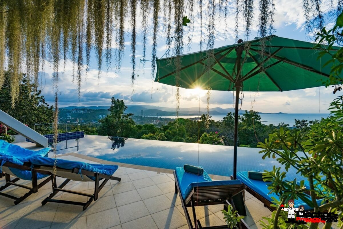6 Bedroom Villa with stunning Sea View - Plai Laem - Koh Samui