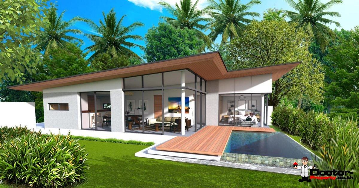 New 2 Bedroom Pool Villa - Bo Phut, Koh Samui - For Sale