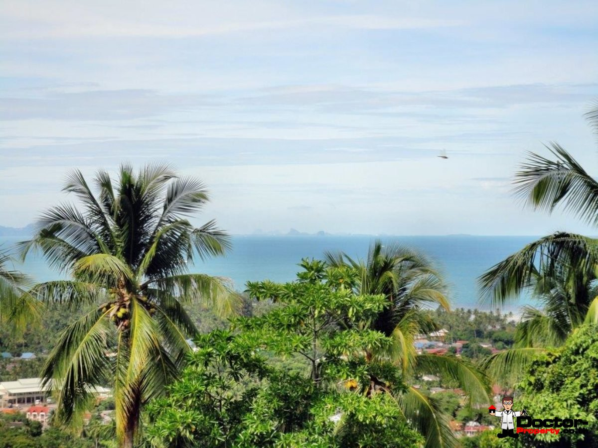 Fantastic Sea View Land - Nathon - Koh Samui - for sale