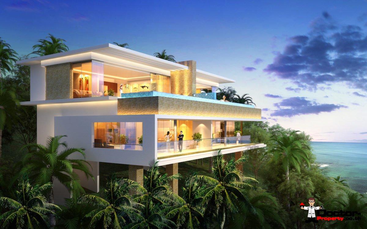3 Bedroom Sea View Villa Type C - Chaweng Noi - Koh Samui