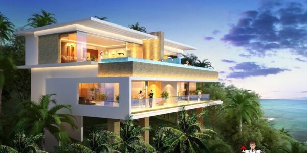 3 Bedroom Sea View Villa Type C - Chaweng Noi - Koh Samui