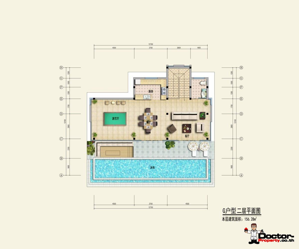 Type G2 - Sea View Villa - Chaweng Noi - Koh Samui - for sale