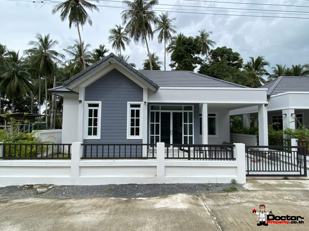 2 and 3 Bedroom Townhouses – Taling Ngam, Koh Samui – For Sale