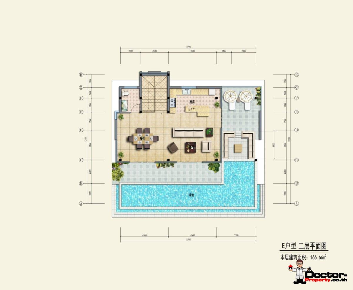 Type E2 - Sea View Villa - Chaweng Noi - Koh Samui - for sale