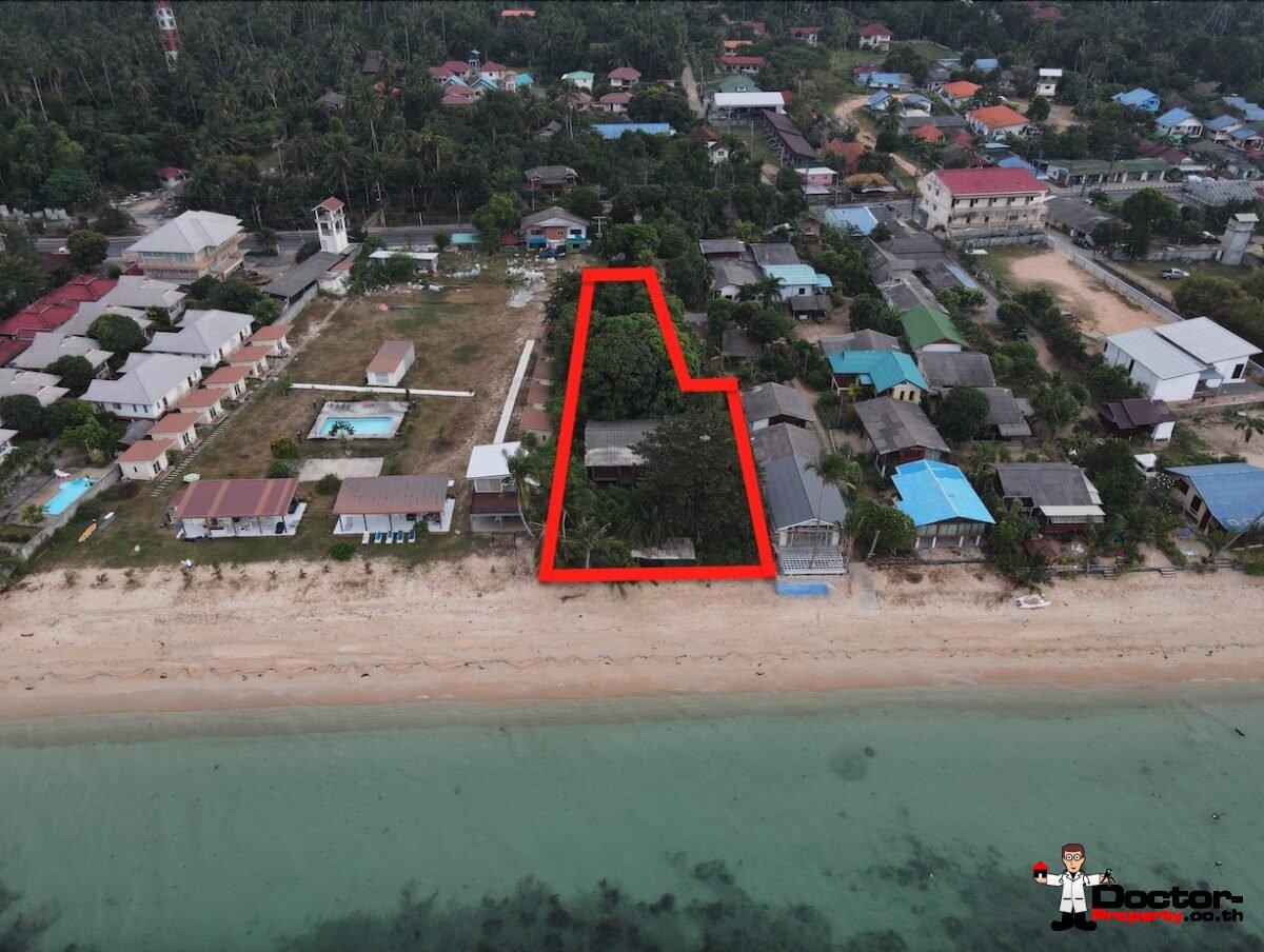 Nearly 1 Rai Stunning Beachfront Land - Bang Por - Koh Samui - for sale
