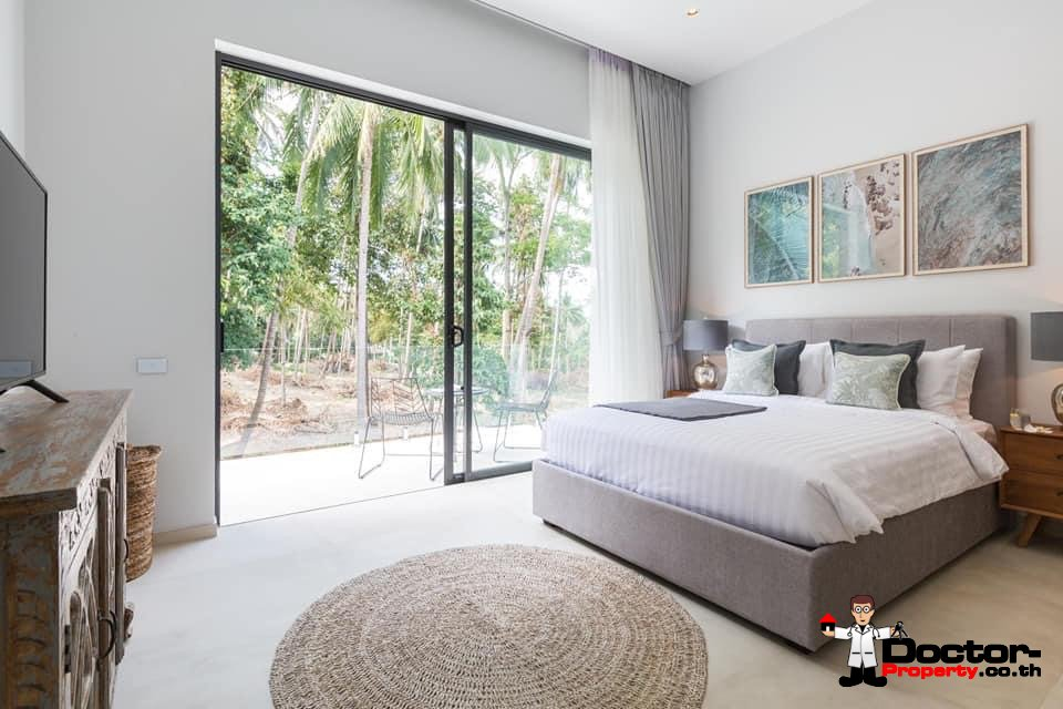 New 3 Bedroom Pool Villa - Chaweng - Koh Samui - For Sale