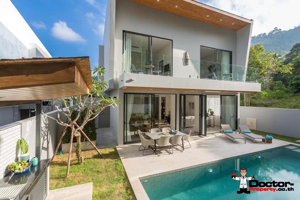 New 3 Bedroom Pool Villa - Chaweng - Koh Samui - For Sale