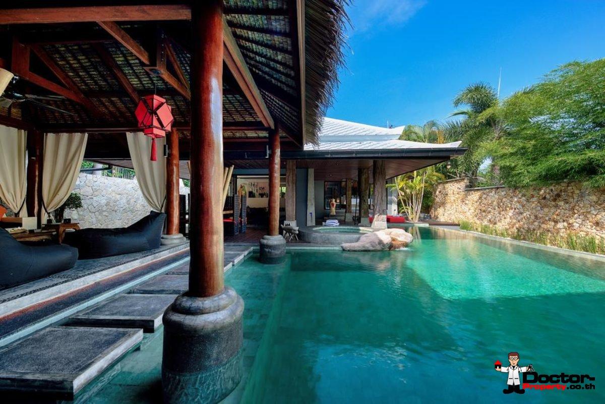 3 Bedroom Pool Villa - Bophut - Koh Samui - for sale
