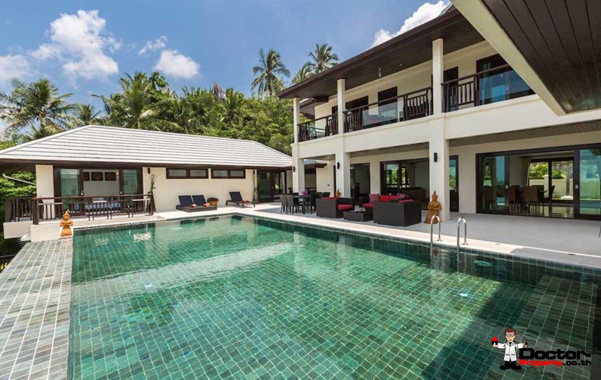Stunning 6 Bedroom Sea View Villa - Maenam - Koh Samui - for sale