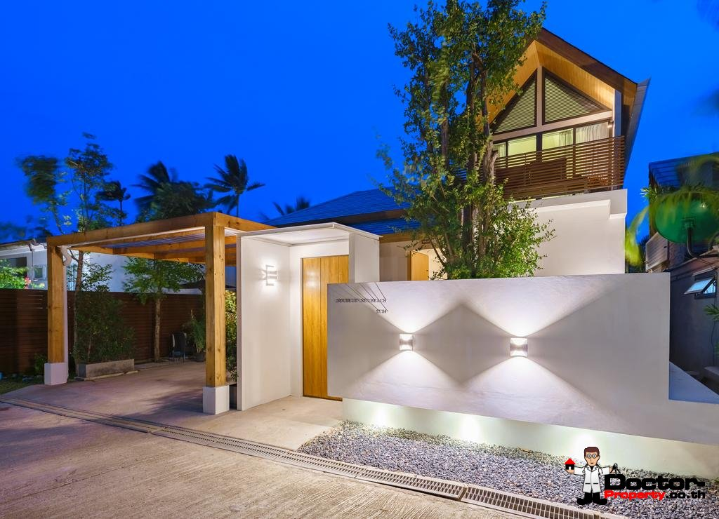 5 Bedroom Beachfront Villa - Bang Makham - Koh Samui - for sale
