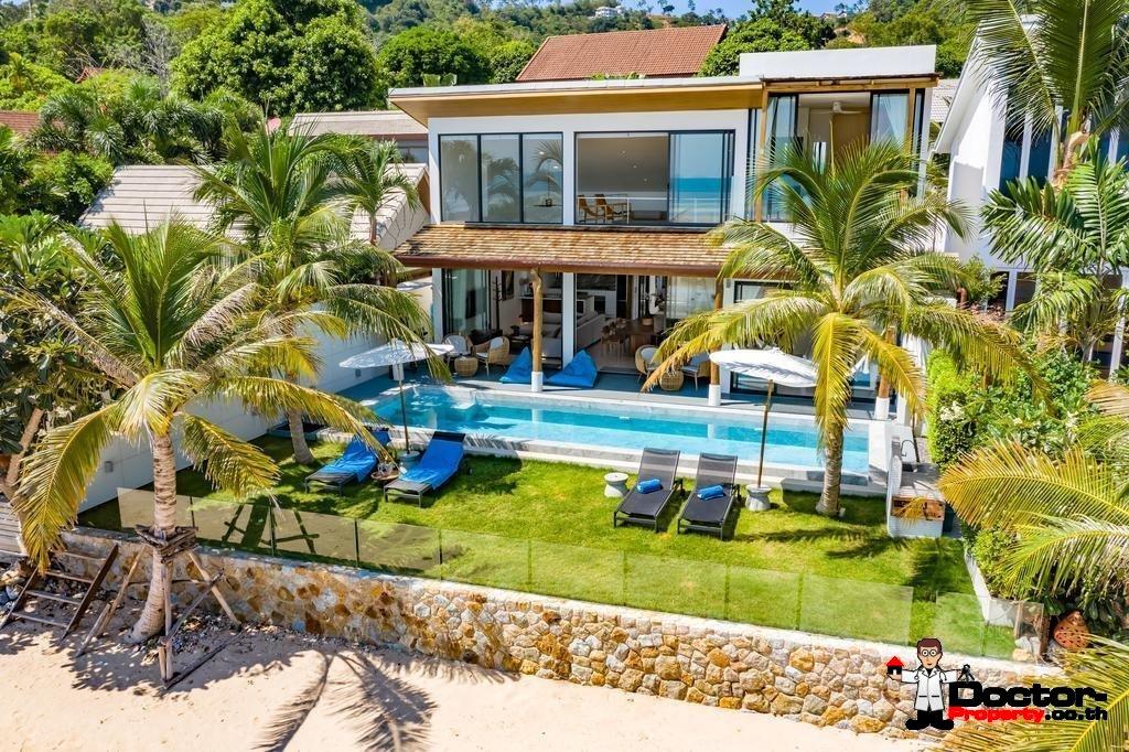 5 Bedroom Beachfront Villa - Bang Makham - Koh Samui - for sale