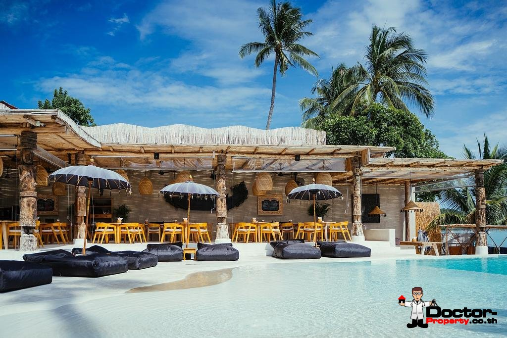 Unique Beachfront Resort with 20 private Villas - Bophut - Koh Samui - for sale