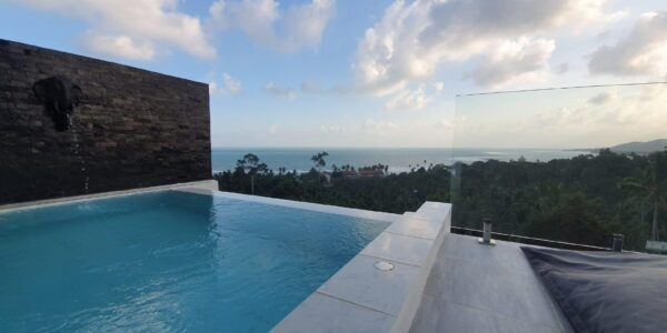 2 Bedroom Apartment with Amazing Panoramic Sea View - Lamai, Koh Samui - For Sale