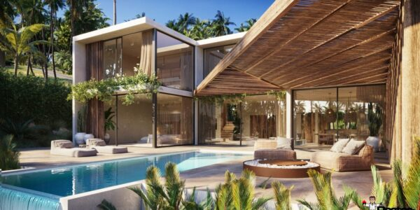 New 3 Bedroom Villa with Sea View – Chaweng, Koh Samui – For Sale