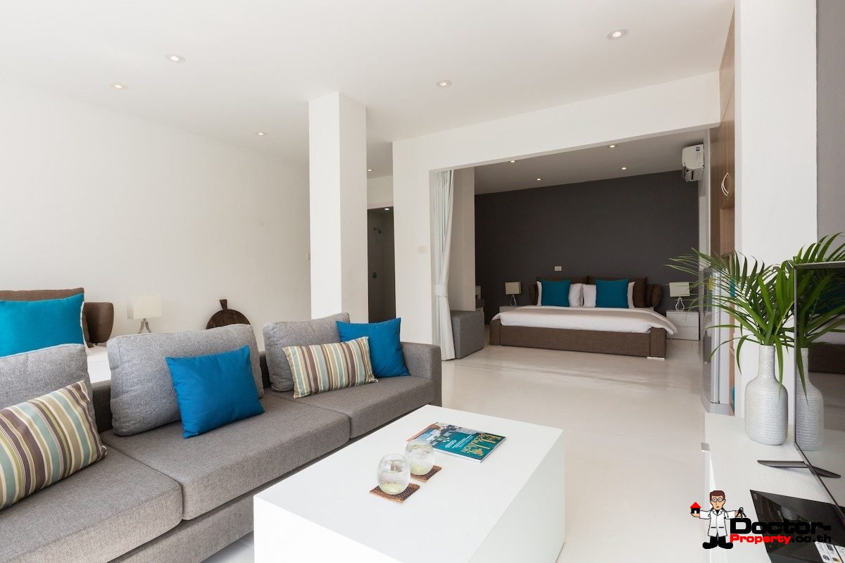 4 Bed Pool Villa with Sea View - Big Buddha, Koh Samui - For Sale