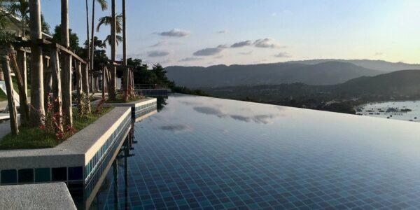 Sea View 3 Bedroom Ensuite Apartment - Bang Rak - Koh Samui - for sale