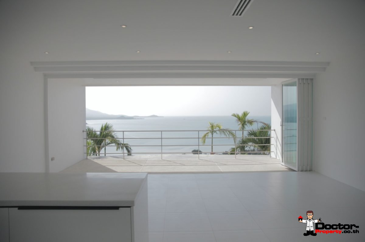 Sea View 3 Bedroom Ensuite Apartment - Bang Rak - Koh Samui - for sale