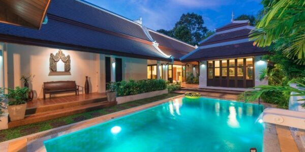 3 Bedroom Villa - Bang Kao - Koh Samui - for sale